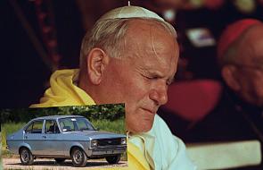 Tym samochodem Karol Wojtyła przyjechał na konklawe, na którym został wybrany papieżem