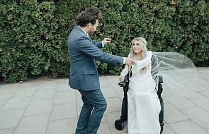 To był pierwszy mężczyzna, który nie zapytał jej, dlaczego jeździ na wózku