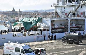Trwa kryzys wokół statku ze 177 migrantami, który zawinął na Sycylię