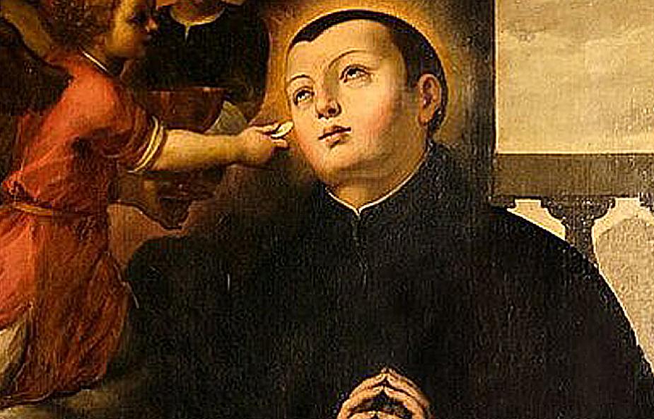 Postać tego młodego świętego na stałe wpisała się w polską pobożność