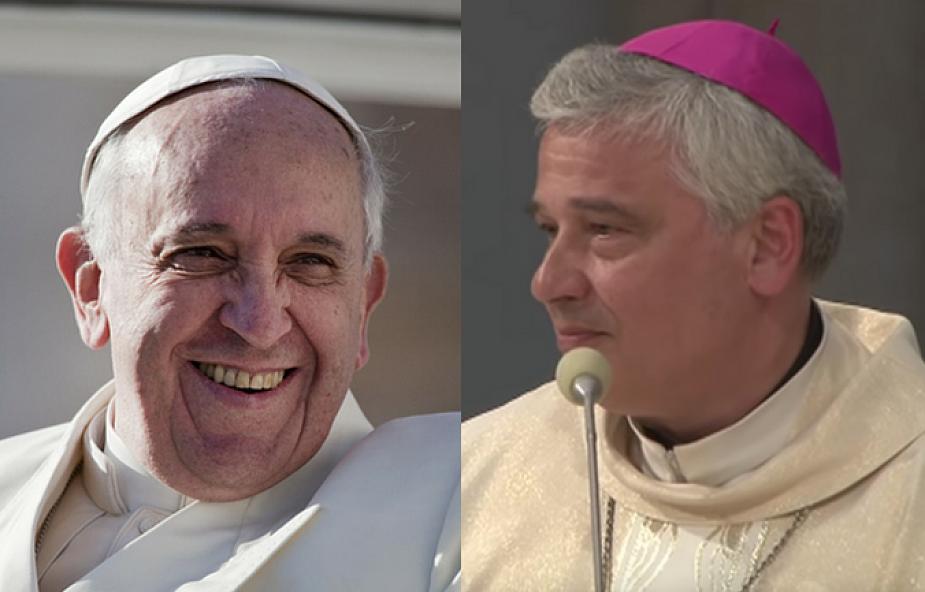 """Papież Franciszek podarował kard. Krajewskiemu tę książkę. """"Weź i czytaj"""""""