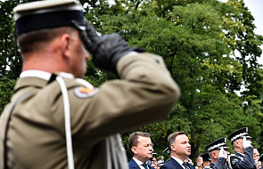 Błaszczak: siły powietrzne RP bronią polskiego nieba i zapewniają bezpieczeństwo w ramach NATO