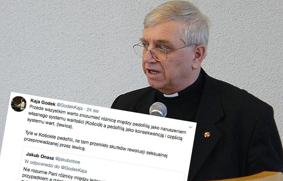 Czy gej to pedofil? Specjalista Episkopatu odpowiada m.in. Kai Godek