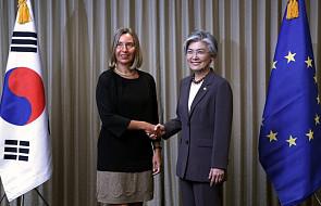 Korea Płd.: Mogherini spotkała się z szefową MSZ w Seulu