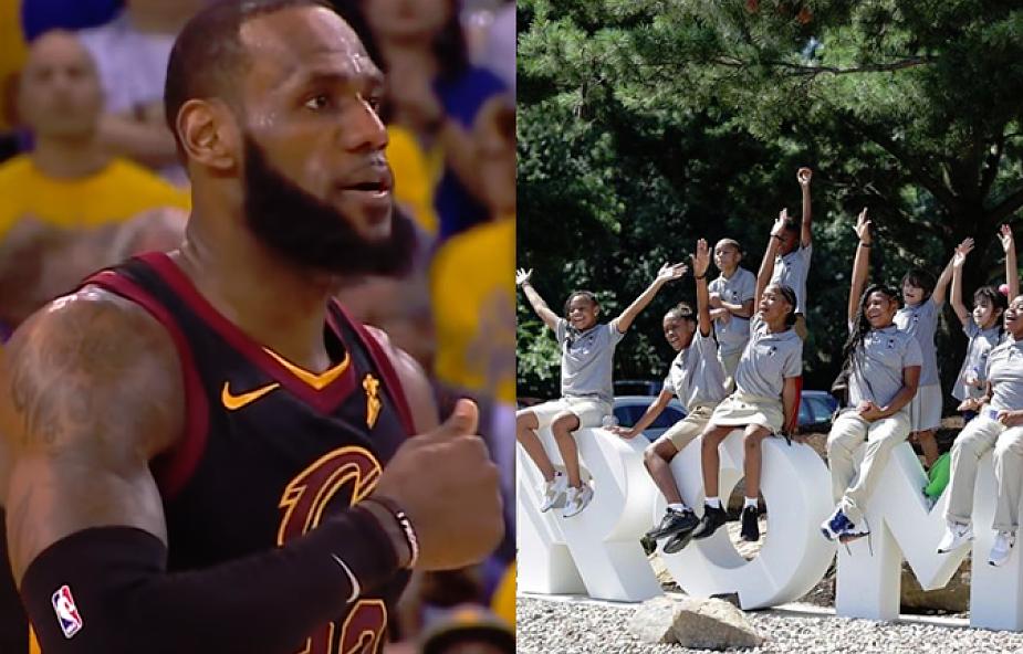 """Najsłynniejszy zawodnik NBA otwiera szkołę dla uczniów z problemami. """"Znam te dzieci lepiej niż one same"""""""
