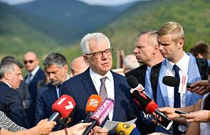 Czaputowicz: potwierdzamy poparcie dla integralności terytorialnej Gruzji