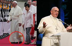 Czemu papież Franciszek nie nosi czerwonych butów? Czy łamie kościelne prawo?