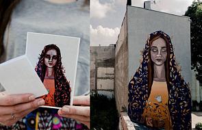 Mural z Maryją ożywił Łódź. Zdjęcia i idea zachwycają [WYWIAD]