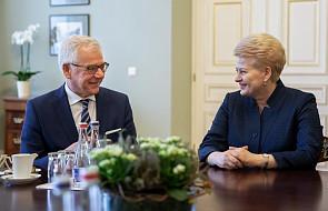 """Nowa siedziba ambasady RP w Wilnie. """"Zbudowaliśmy partnerstwo na solidnych podstawach"""""""