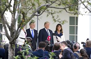 W Białym Domu rozpoczęły się rozmowy par prezydenckich Polski i USA