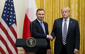 "Duda: prezydent USA mówi ""America first"", ja mówię ""Poland first"""