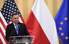 Duda: liczę, że moje rozmowy przyniosą efekty ws. wojskowej obecności USA w Polsce