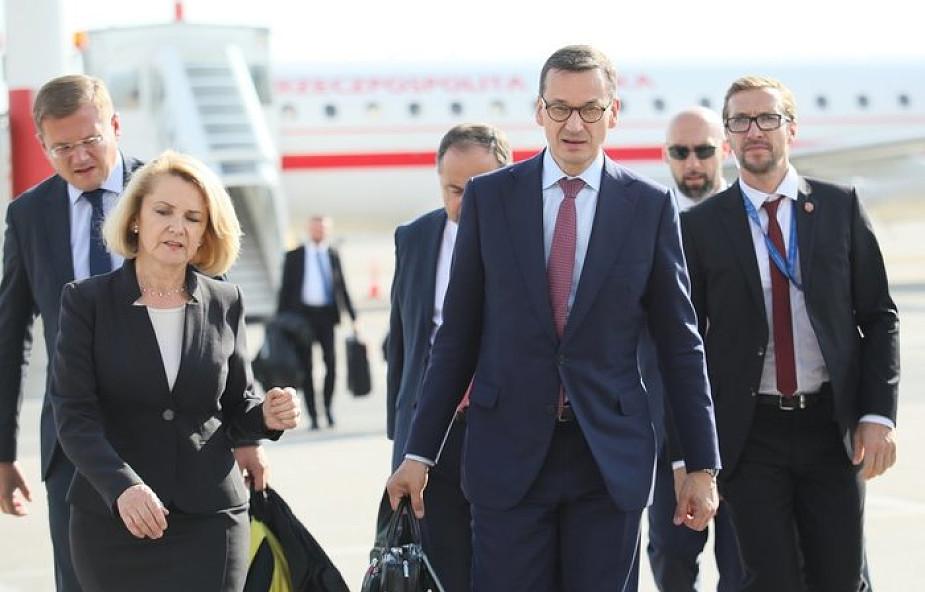 Premier Morawiecki przybył do Salzburga na nieformalny szczyt UE