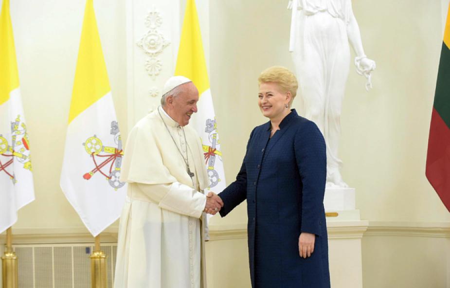 """Franciszek do władz Litwy: waszym zadaniem jest """"ugoszczenie różnic"""" [PEŁNY TEKST]"""
