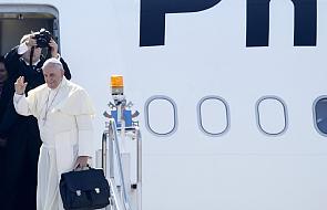 Samolot papieski wleciał na terytorium Polski