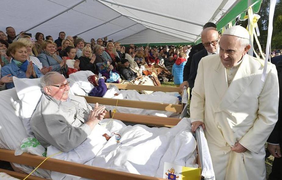 Papież do osób starszych w Rydze: nie poddawajcie się zniechęceniu!
