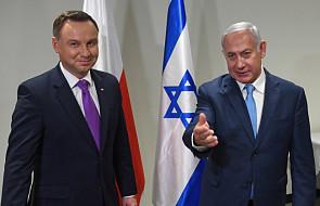 Duda i Netanjahu o relacjach bilateralnych i sytuacji na Bliskim Wschodzie