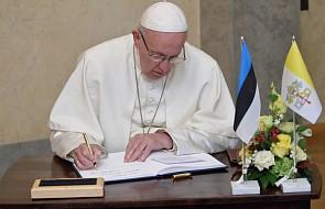Bałtowie wdzięczni Franciszkowi za owoce jego pielgrzymki