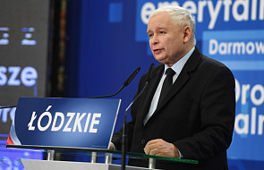 Kaczyński: Łódź będzie wizytówką Polski, jeżeli społeczeństwo wybierze tych, którzy robią, a nie mówią