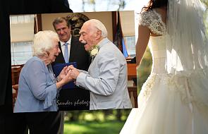 Poznali się na siłowni, teraz postanowili się pobrać. Mają łącznie… 194 lata
