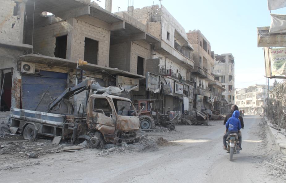 8 z 13 milionów mieszkańców Syrii wciąż potrzebuje pomocy humanitarnej