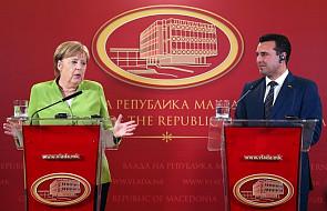 Merkel apeluje do Macedończyków o udział w referendum ws. nazwy kraju