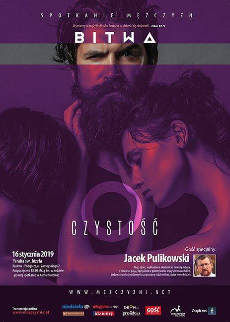 Jacek Pulikowski poprowadzi spotkanie o czystości w Krakowie. Nie tylko dla mężczyzn - zdjęcie w treści artykułu