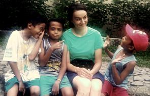 Miałam wrażenie, że chodzi tam z nami św. Matka Teresa. O misjach i życiu w slumsach