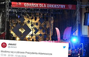 Jezuici modlą się za prezydenta Pawła Adamowicza