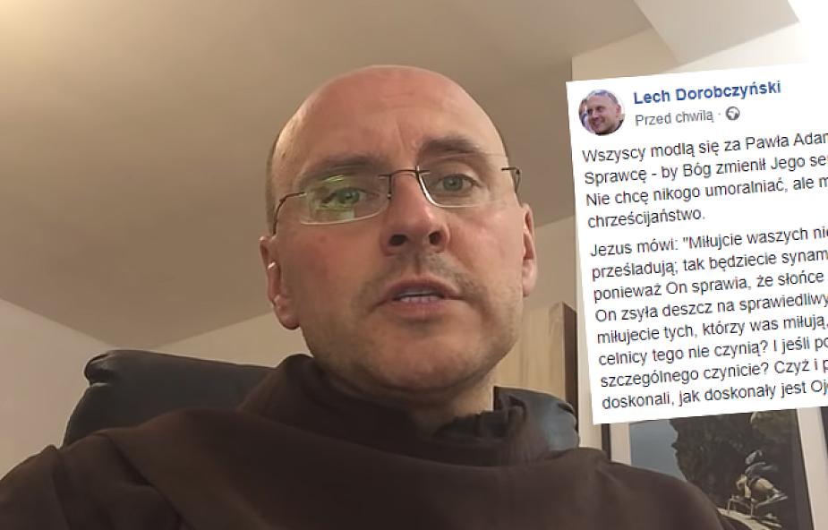 Lech Dorobczyński OFM o zamachu w Gdańsku: modlę się również za sprawcę