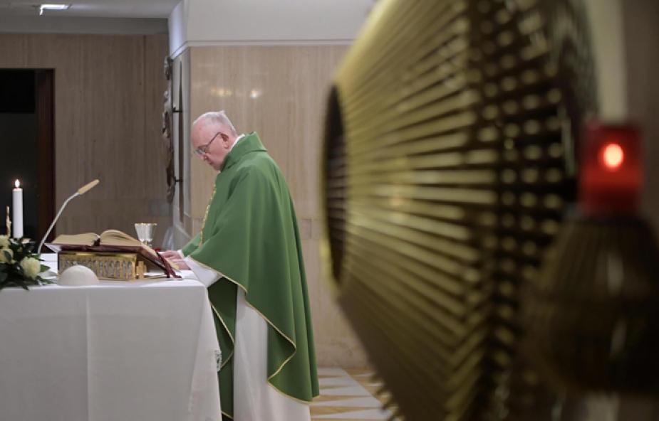 Franciszek pozdrowił pielgrzymów z sanktuarium w Szczepanowie