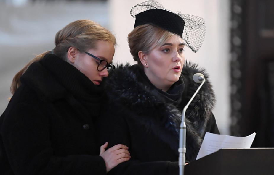 Poruszające słowa córki i żony prezydenta Adamowicza w czasie pogrzebu