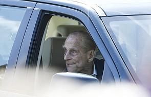 W.Brytania: książę Filip upomniany przez policję za jazdę bez pasa bezpieczeństwa