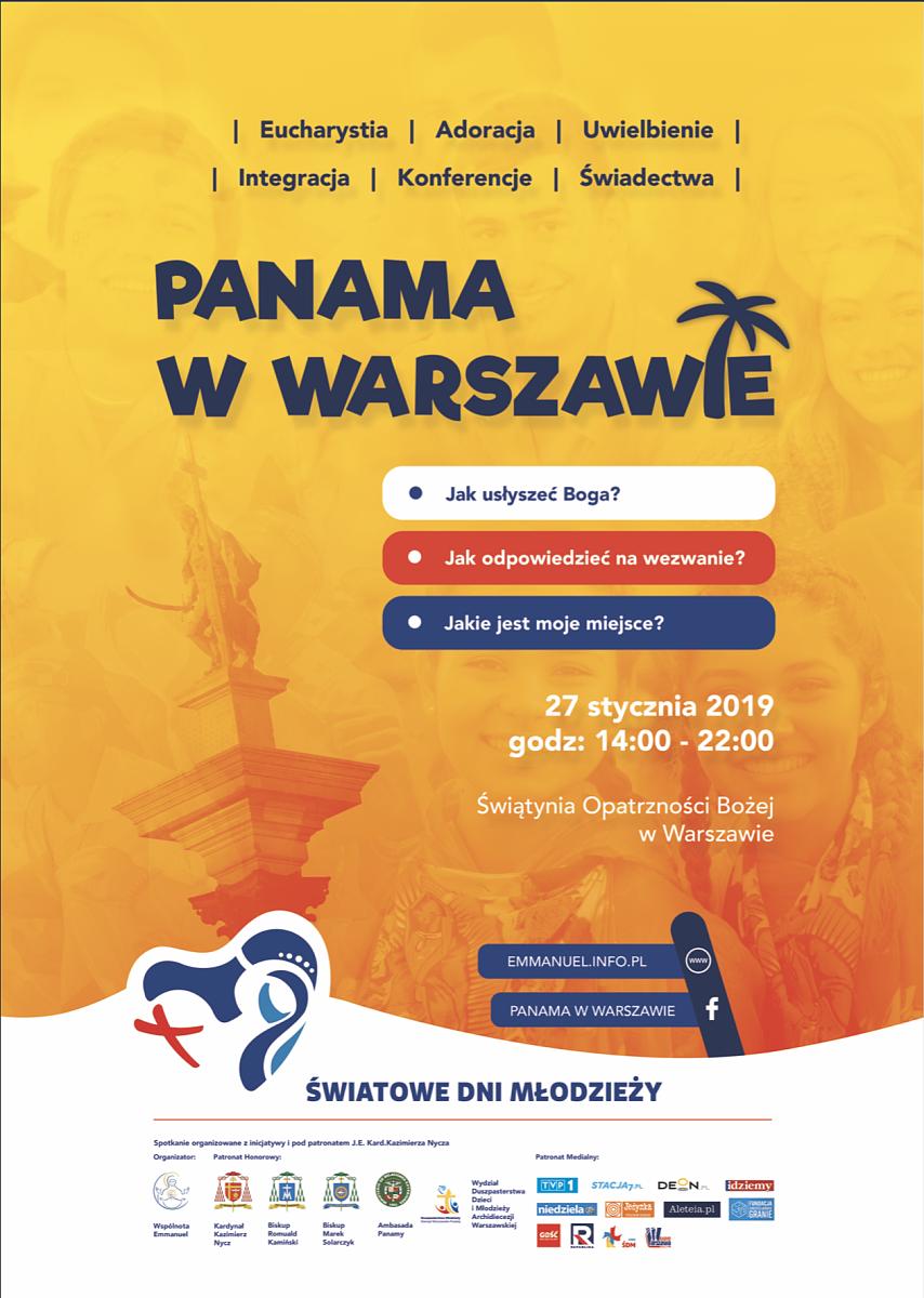 Panama w Warszawie. W łączności z ŚDM 2019 - zdjęcie w treści artykułu