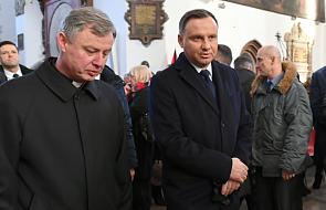 Prezydent Andrzej Duda deklaruje dalsze wsparcie dla WOŚP