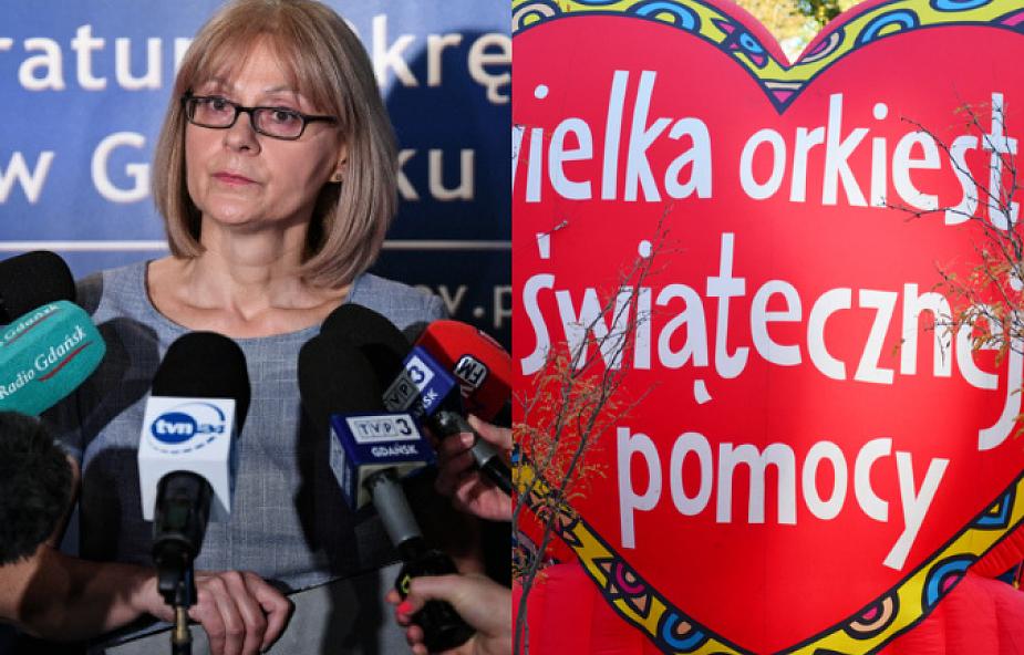 Wniosek o areszt dla szefa ochrony gdańskiego finału WOŚP