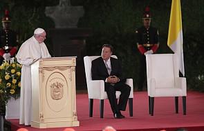 Franciszek do władz w czasie ŚDM: Panama ziemią zwołania i marzeń