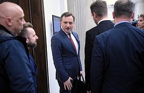 Ziobro: spotkanie z szefami klubów i kół dotyczyło zmiany ustawy o ochronie zdrowia psychicznego
