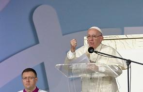 Papież: bądźcie ludźmi wpływowymi na wzór Maryi! [CAŁE PRZEMÓWIENIE]