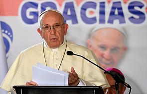 Papież zaapelował o rozwiązanie kryzysu w Wenezueli. Modli się też w intencji ofiar ostatnich katastrof