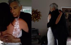 Dzień przed śmiercią taty zdążyła z nim zatańczyć jako panna młoda [WIDEO]