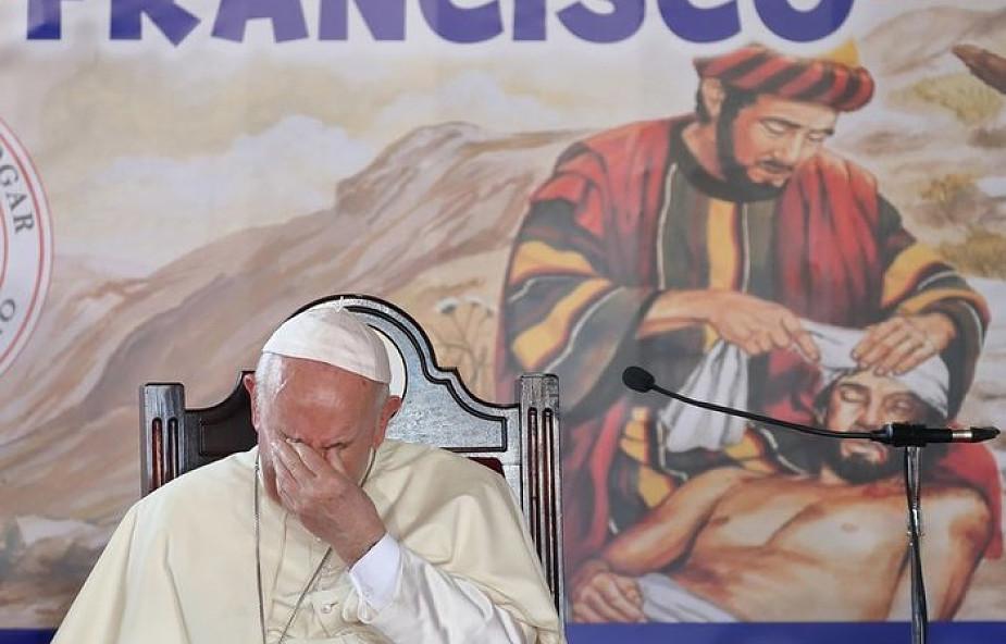 Franciszek w Panamie modlił się za ofiary holokaustu, o pokój w Wenezueli i Kolumbii