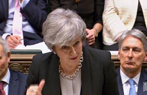 """May wzywa posłów do """"wysłania dobitnego sygnału"""" ws. brexitu"""