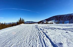 Po opadach śniegu wzrosło zagrożenie lawinowe w Beskidach