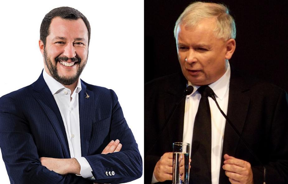 Jarosław Kaczyński  spotka się z Matteo Salvinim 9 stycznia w Warszawie
