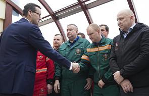 Premier: ratownictwo górnicze to zawód wysokich standardów moralnych i bohaterstwa