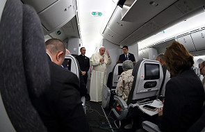 ŚDM: konferencja prasowa na pokładzie samolotu z Panamy [CAŁY TEKST]