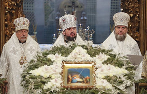 Ukraina: w soborze Mądrości Bożej w Kijowie odbyła się pierwsza liturgia świąteczna po otrzymaniu tomosu