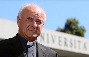"""Abp Paglia: zostawić 49 osób na morzu to piekło. """"Boli mnie to jako człowieka"""""""