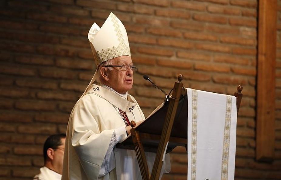 Chile chce odebrać obywatelstwo kardynałowi oskarżonemu o ukrywanie nadużyć seksualnych w Kościele